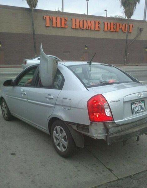 Подборка неудачников и смешных ситуаций на дороге - фото 45