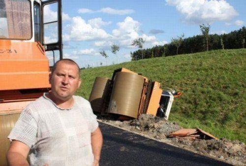 Подборка неудачников и смешных ситуаций на дороге - фото 8