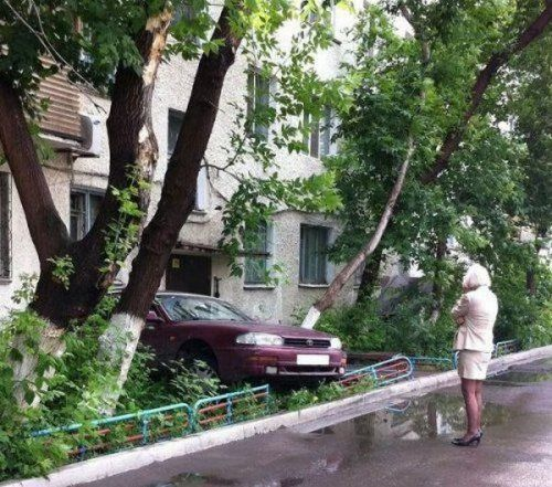 Подборка неудачников и смешных ситуаций на дороге - фото 20