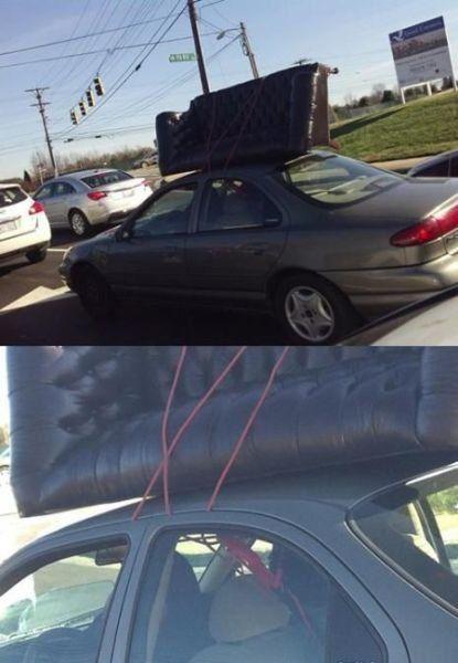 Подборка неудачников и смешных ситуаций на дороге - фото 34