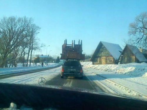 Подборка неудачников и смешных ситуаций на дороге - фото 39
