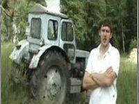Обзор трактора в стиле TopGear - фото 1