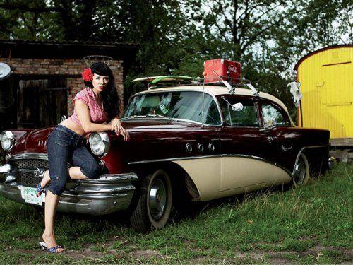 Немецкая авто-эротика с американской классикой - фото 13