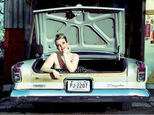Немецкая авто-эротика с американской классикой - фото 12