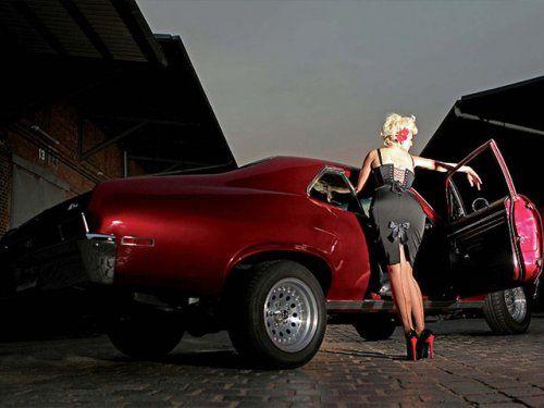 Немецкая авто-эротика с американской классикой - фото 9