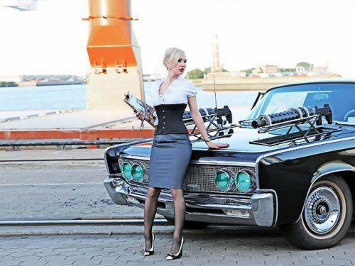 Немецкая авто-эротика с американской классикой - фото 25