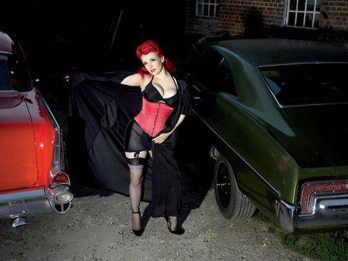 Немецкая авто-эротика с американской классикой - фото 23