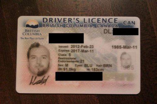 Необычное фото на водительском удостоверении - фото 2