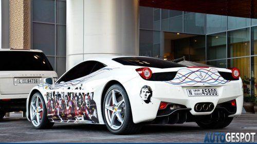 Ferrari 458 Italia настоящего фаната футбольной Барселоны - фото 6