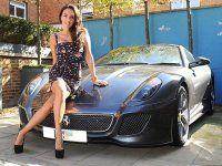 Дочь хозяина Формулы 1 снялась в фотосессии с Ferrari - фото 5