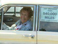 Бабуля проехала на машине почти миллион километров! - фото 5