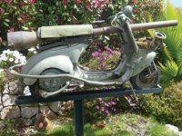 Огнебойный мотороллер Vespa 1959 года выпуска - фото 1