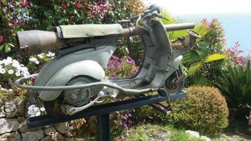 Огнебойный мотороллер Vespa 1959 года выпуска - фото 4