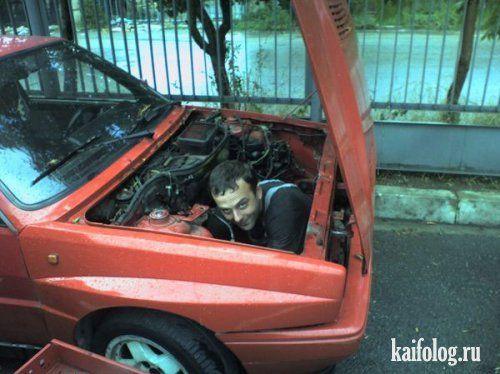 Подборка автомобильных приколов)))) - фото 16