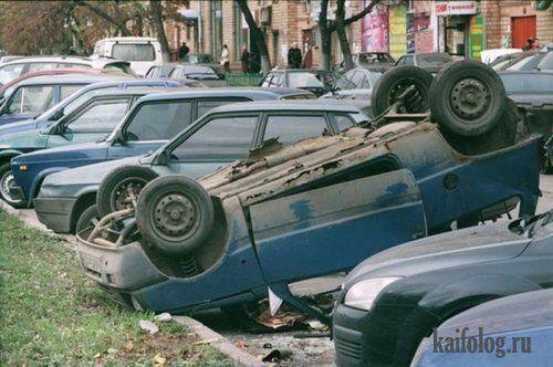 Подборка автомобильных приколов)))) - фото 48
