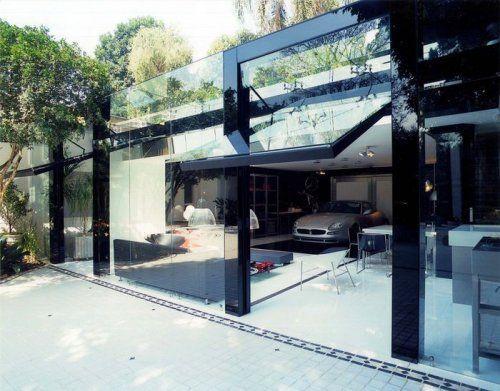 Современный гараж из стекла от Brunete Fraccaroli - фото 7