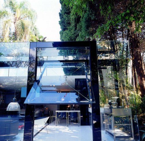 Современный гараж из стекла от Brunete Fraccaroli - фото 16