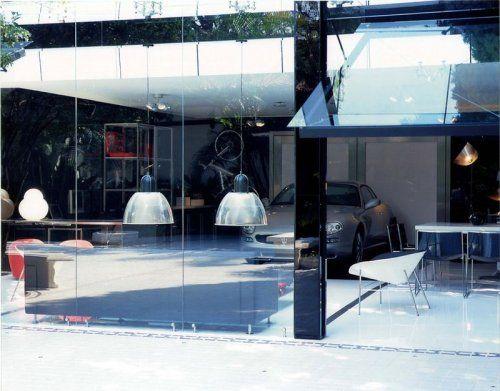 Современный гараж из стекла от Brunete Fraccaroli - фото 11
