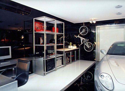 Современный гараж из стекла от Brunete Fraccaroli - фото 8