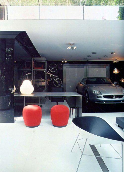 Современный гараж из стекла от Brunete Fraccaroli - фото 5