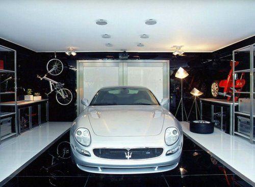 Современный гараж из стекла от Brunete Fraccaroli - фото 3