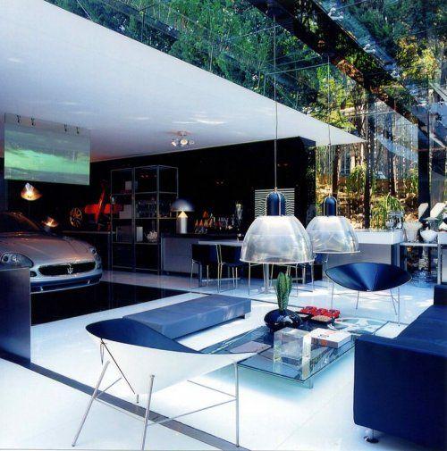 Современный гараж из стекла от Brunete Fraccaroli - фото 13