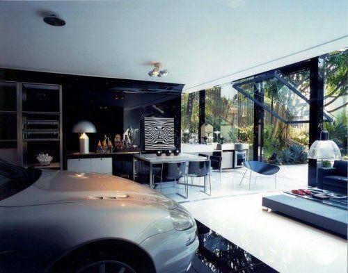 Современный гараж из стекла от Brunete Fraccaroli - фото 12