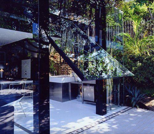 Современный гараж из стекла от Brunete Fraccaroli - фото 15