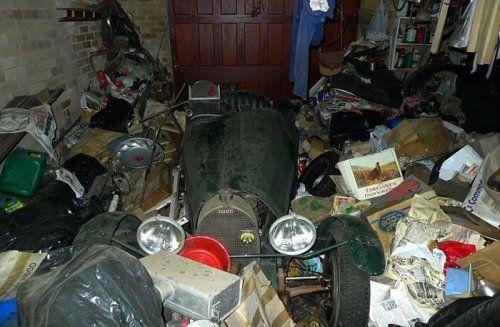 В гараже была найдена ценная вещь - фото 1