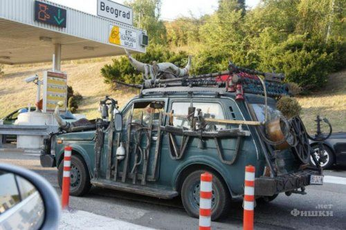 Сербский народный автомобиль на базе Лада Нива  - фото 1