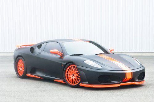 Тюнинг: Hamann представил Ferrari F430 Black Miracle - фото 10