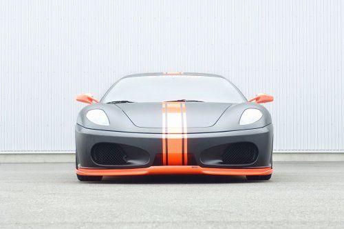 Тюнинг: Hamann представил Ferrari F430 Black Miracle - фото 7