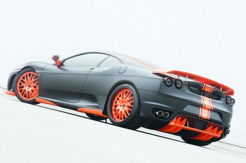 Тюнинг: Hamann представил Ferrari F430 Black Miracle - фото 9