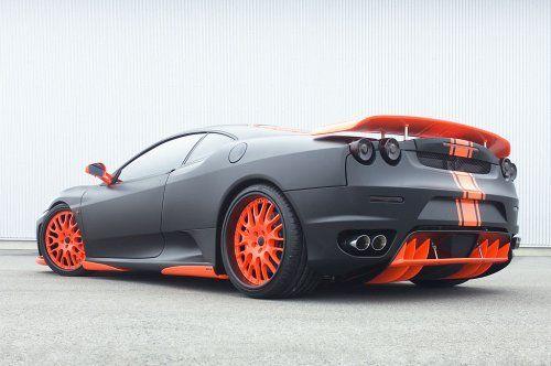 Тюнинг: Hamann представил Ferrari F430 Black Miracle - фото 4