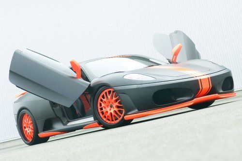 Тюнинг: Hamann представил Ferrari F430 Black Miracle - фото 6