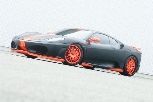 Тюнинг: Hamann представил Ferrari F430 Black Miracle - фото 3