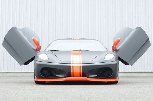 Тюнинг: Hamann представил Ferrari F430 Black Miracle - фото 1