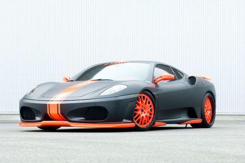 Тюнинг: Hamann представил Ferrari F430 Black Miracle - фото 2