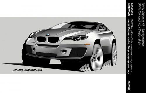Концептуальный BMW X6 будет лучшим в своем классе! - фото 7