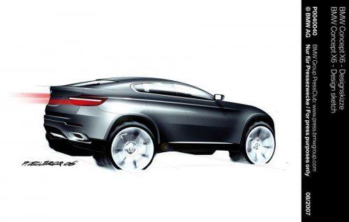 Концептуальный BMW X6 будет лучшим в своем классе! - фото 9