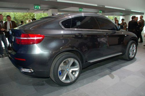 Концептуальный BMW X6 будет лучшим в своем классе! - фото 8