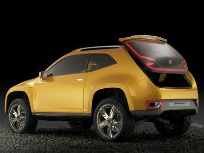 Seat Tribu - дизайнерский гибрид - фото 5