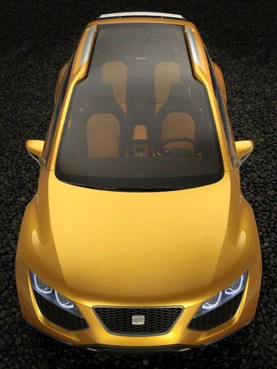 Seat Tribu - дизайнерский гибрид - фото 2