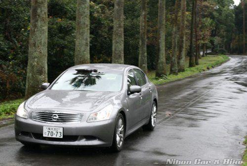 Фотографии нового седеана Nissan Skyline 350 GT - фото 2
