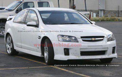 Camaro пойман на камеру во время тестов в США - фото 1