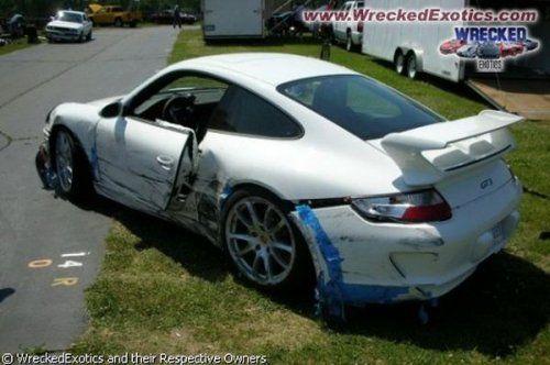 Аварии самых дорогих автомобилей - фото 16