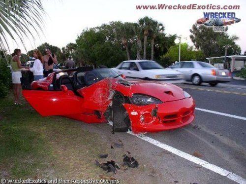 Аварии самых дорогих автомобилей - фото 25