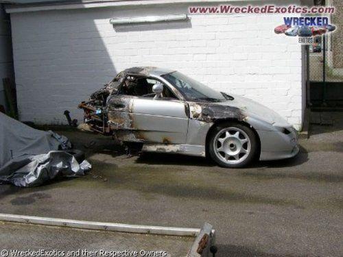 Аварии самых дорогих автомобилей - фото 22