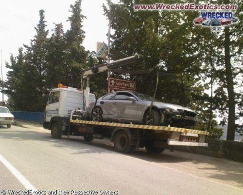 Аварии самых дорогих автомобилей - фото 5