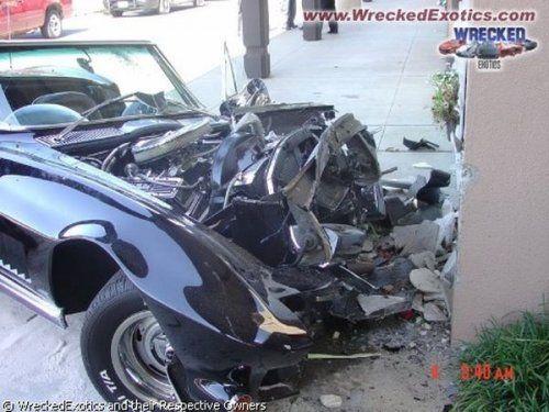 Аварии самых дорогих автомобилей - фото 28
